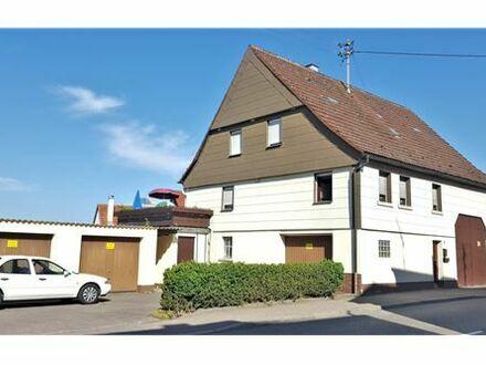 REMAX - Zum Renovieren: Einfamilienhaus vermietet mit Scheune und Doppelgarage