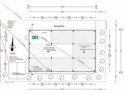 REMAX - Projektionierte Lagerhalle ca.250m² - Zusatz-Ausstattung für Mieter noch wählbar