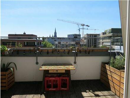REMAX - Zauberhafte Maisonette-Wohnung, 2 Balkone, Aussicht auf das Ulmer Münster!