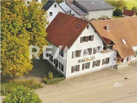 REMAX - Keine Käuferprovision! Gaststätte mit Metzgerei – ideal für Umbau als Mehrfamilienhaus – 46m² Dachterrasse
