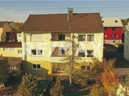 REMAX - Keine Käuferprovision! Zweifamilienhaus – weiter ausbaufähig– Südausrichtung – herrliche Aussicht