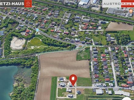 378 m² Grund mit Doppelhaus in Wels ab € 316.400,- sichern!
