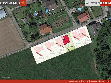 Pucking: Letztes Grundstück inkl. Haus ab € 409.045 sichern