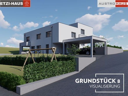 Exklusive Doppelhaushälfte+Grund in Leonding ab € 649.061,-