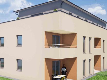 Guntersdorf. Erstbezug ab Oktober | Geförderte Wohnung | ca. 246 m² Garten | Miete mit Kaufrecht.