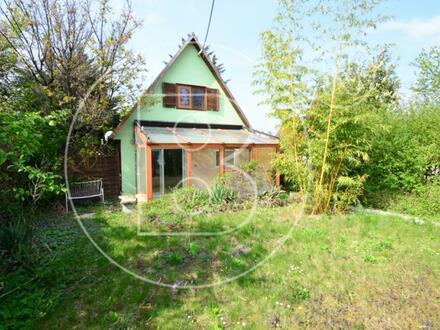 Kleingartenparzelle im Eigentum mit Haus in attraktiver Lage!
