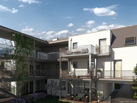 Großzügige Dachgeschoß-Wohnung im Zentrum von Brunn am Gebirge