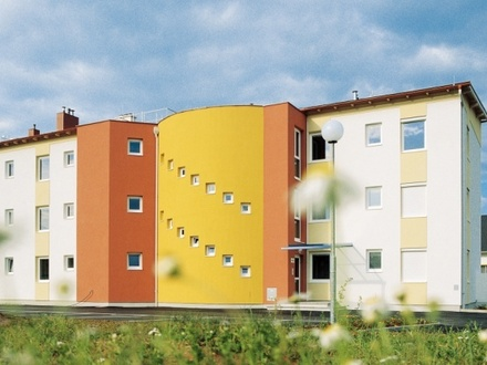 Geförderte 3-Zimmer-Wohnung mit Loggia