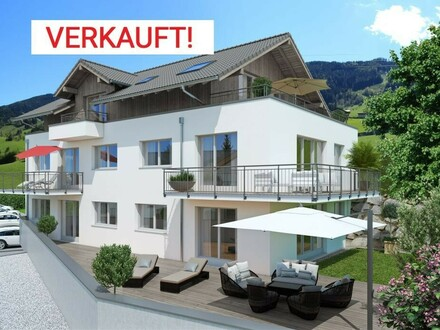 VERKAUFT!!! Moderne Neubauwohnung mit Panoramablick / TOP2