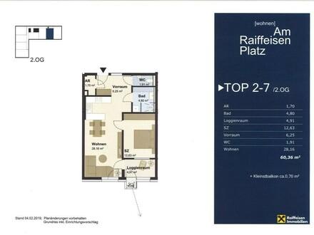 """Wohnen """"Am Raiffeisen Platz"""" TOP2-7 Typ2"""