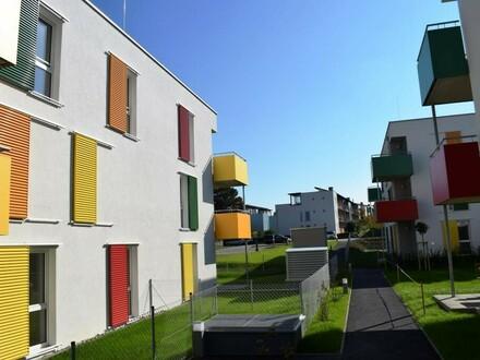 Moderne Erdgeschoßwohnung mit Gartenanteil