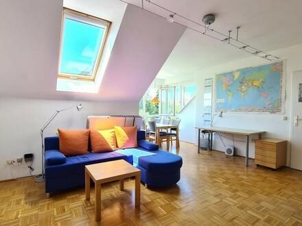 Wohnenswerte Mietwohnung im obersten Stock mit wunderschönem Ausblick