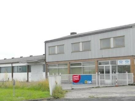Gewerbeobjekt mit Halle und Büro in Wels Nord in TOP-Lage zu vermieten