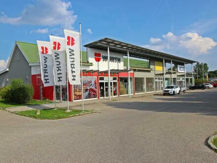 EUR 7,5/m² Nettomiete p.M. | Quadratisch - Praktisch - Gut | Multifunktionale Geschäftsfläche in Hollabrunn | + ca. 2.000…