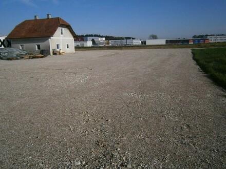Befestigte Freifläche/Lagerplatz - Betriebsbaugebiet in Steinhaus