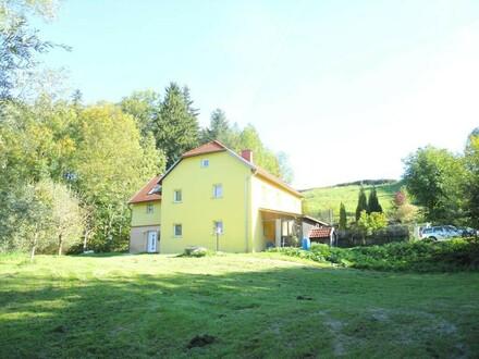 Alleinlage , Neu renoviertes Wohnhaus/Sacherl mit Pool u. großem Fischteich