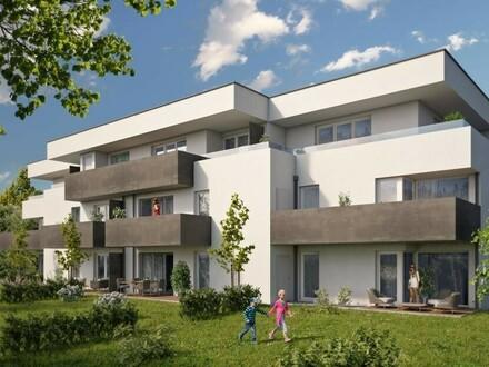 Neue Eck-Etagenwohnung mit südseitigem Balkon