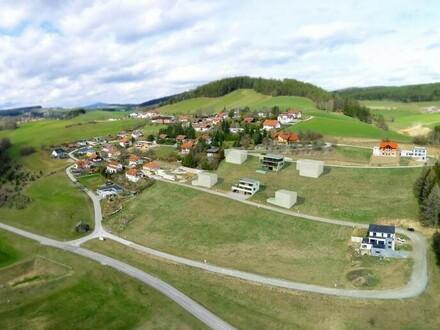 Grundstücke mit wunderschönem Weitblick ohne Bauverpflichtung