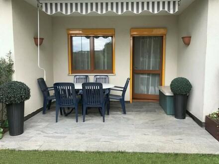 Schöne Erdgeschoßwohnung mit Garten und Garage