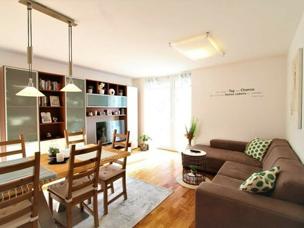 Hinreißende 3-Zi.-Wohnung mit Garten und Tiefgaragenplatz mitten in der Stadt!
