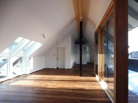 Extravagante Dachterrassenwohnung im Zentrum - Erstbezug!