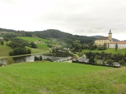 Ausblick von den Grundstücken