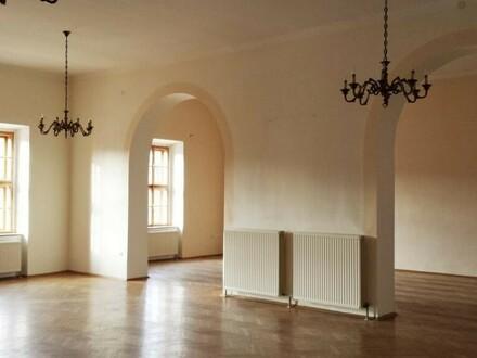 Schöne Räumlichkeiten mit historischem Flair, sehr gute Erreichbarkeit!