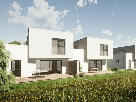 Moderne Doppelhäuser in St. Peter, Doppelhaus 1.2