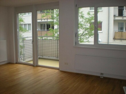 Wohnzimmer mit Balkon - Symbol