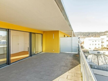 Zentral gelegene Top-Wohnung mit Fernblick