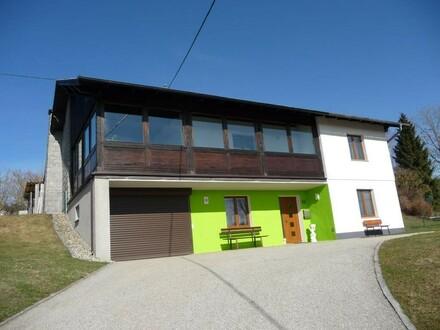 Wohnhaus mit unverbaubarem Ausblick