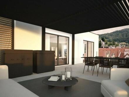 Penthouse mit teilweisem Seeblick - Projekt Fountain Suites