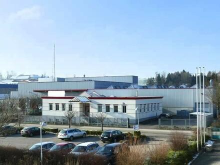 Produktionshallen, Lagerräume und Büros