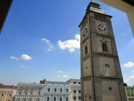 Blick auf den Stadtturm