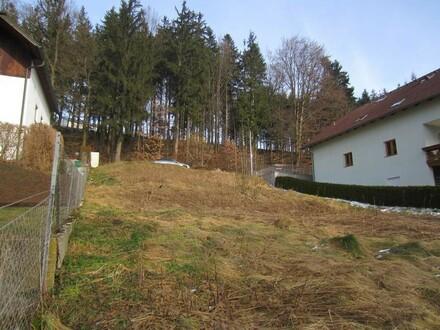 Grundstück Südhanglage