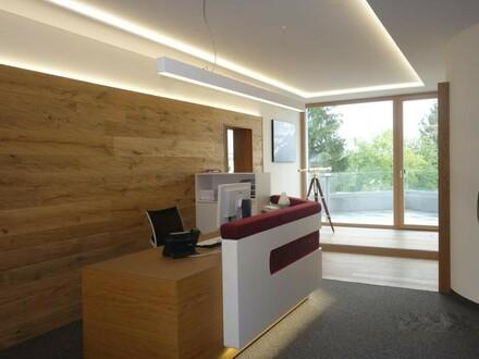 Neuwertig ausgestattete Büros mit bester Infrastruktur