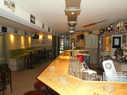Komplette schöne Bar in Top Lage Miete/Pacht