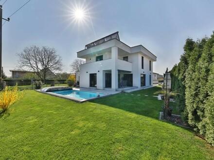 Modernes Einfamilienhaus inkl. wunderschönen Pool in Marchtrenk