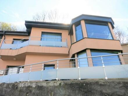 Neuwertiges Zweifamilienhaus mit Ausblick