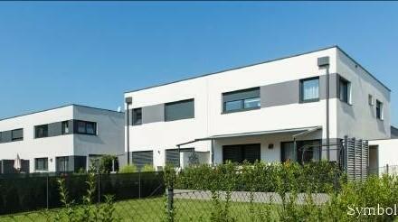 Vier 129 m² große schlüsselfertige Doppelhäuser