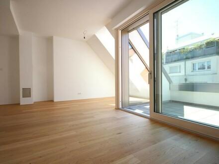 Familienhit mit 41 m² Dachgarten - Neubau Erstbezug nächst Mariahilfer Straße