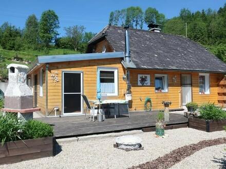 Kleines Wohnhaus unweit der Großen Mühl