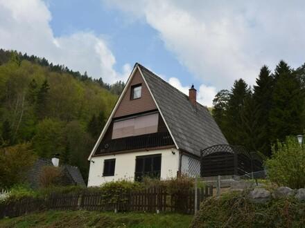 Idyllisches Wohnen über den Dächern von Weyer
