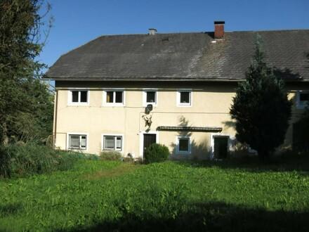 Wohnhaus mit landwirtschaftlichem Grundstück