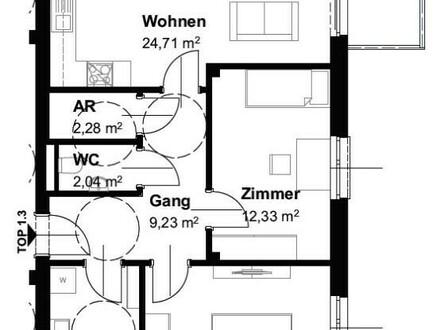 Neubau-Eigentumswohnung im Wohnpark Traunfall - Top 1.3