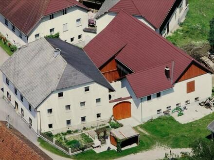Kleinlandwirtschaft in Dorfrandlage