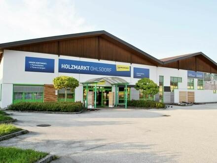 Gewerbehalle mit integriertem Verkaufsbereich