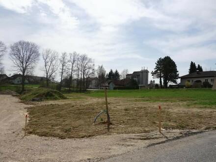 Aufgeschlosses Baugrundstück in sonniger Lage