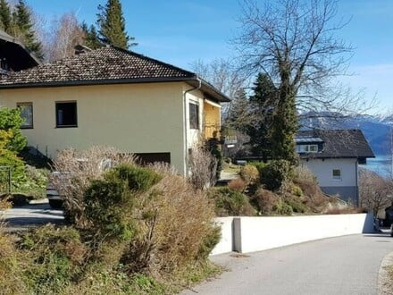 Einfamilienhaus in sonniger Aussichtslage mit Seeblick