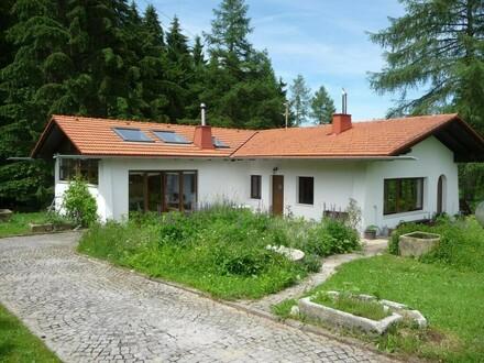 Ruhiges Landhaus in idyllischer Waldrandlage